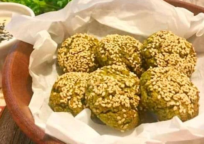 Falafel de Lentilha vegano